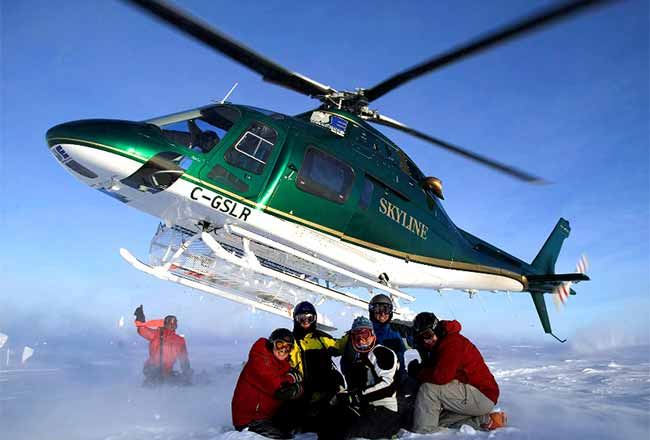 Northern Escapes Heli Skiing