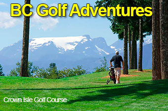 BC Golf Charter Flights To Adventure