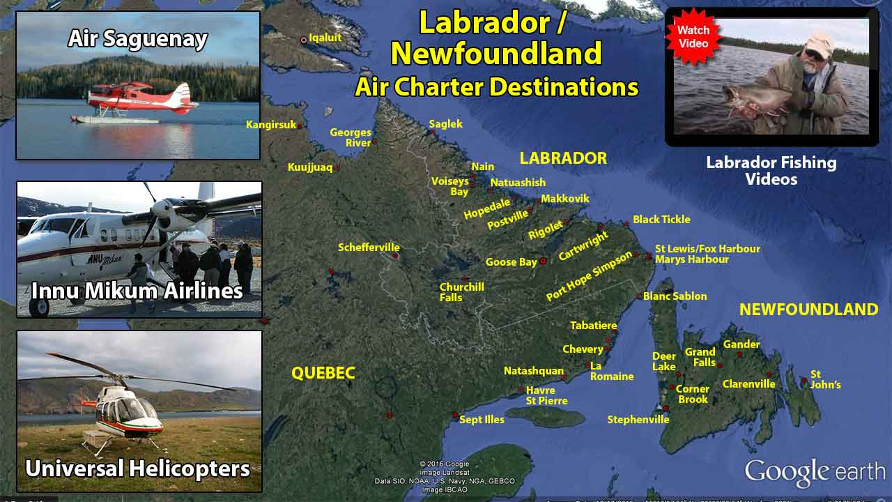 Labrador Charter Flights