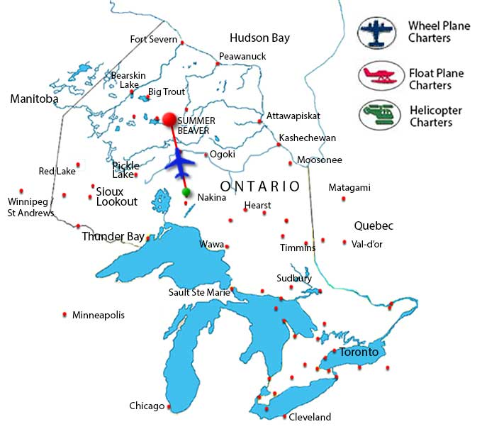 Northern Ontario Air Charter Directory